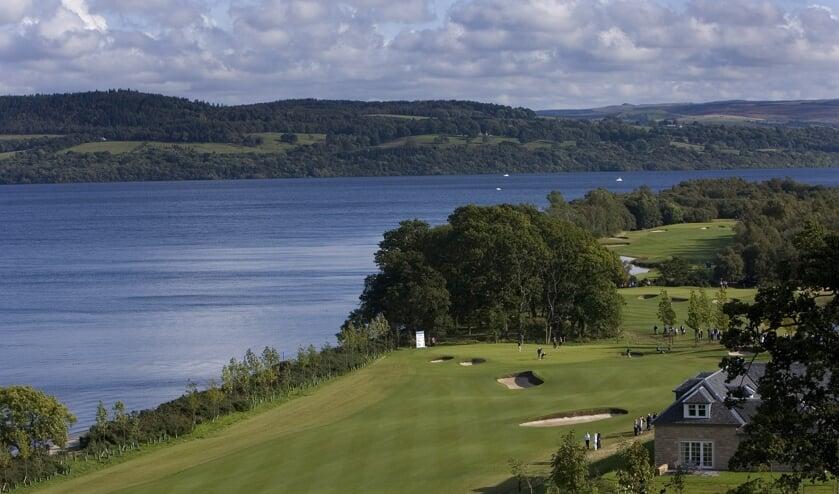 De fraaie en exclusieve golfcourse van Loch Lomond.