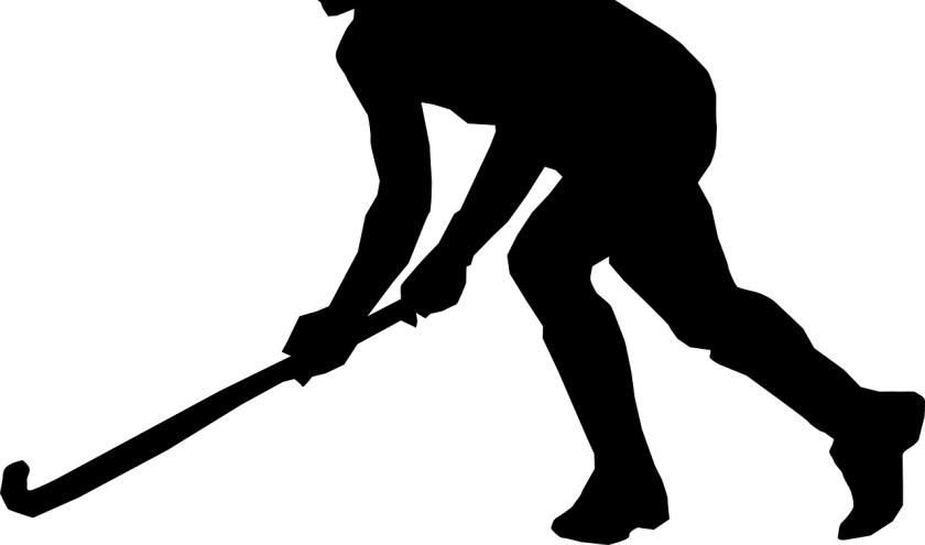 Een hockeyer.