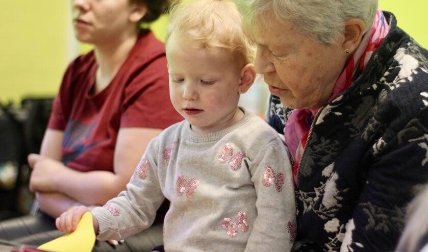 Elke vrijdag is een Ouder- en Kindochtend voor kinderen tussen de nul en vier jaar en hun (groot)ouders.