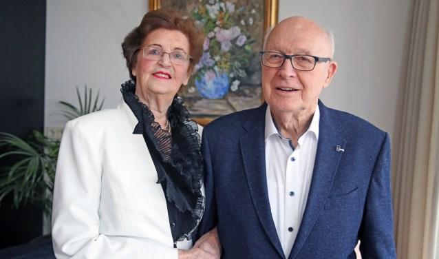 70 jaar lief en leed delen en nog steeds dol op elkaar: Rie en Klaas ten Bruggencate.