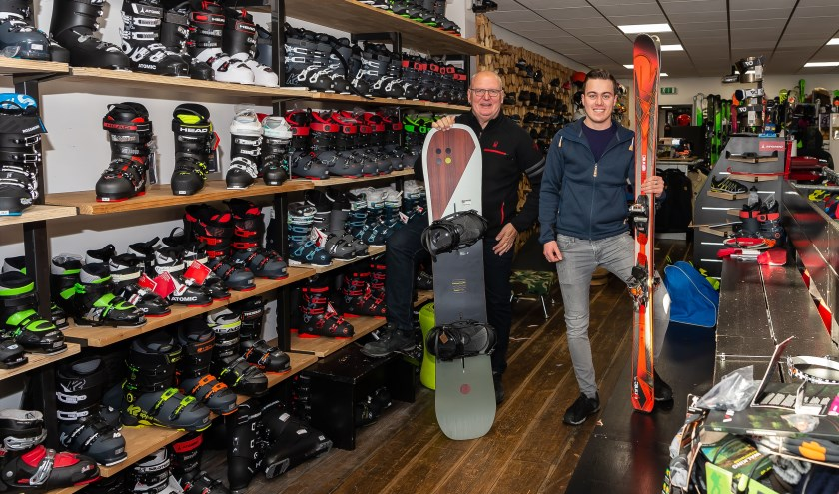 De outdoorspecialist heeft ook alles voor een geslaagde wintersportvakantie.