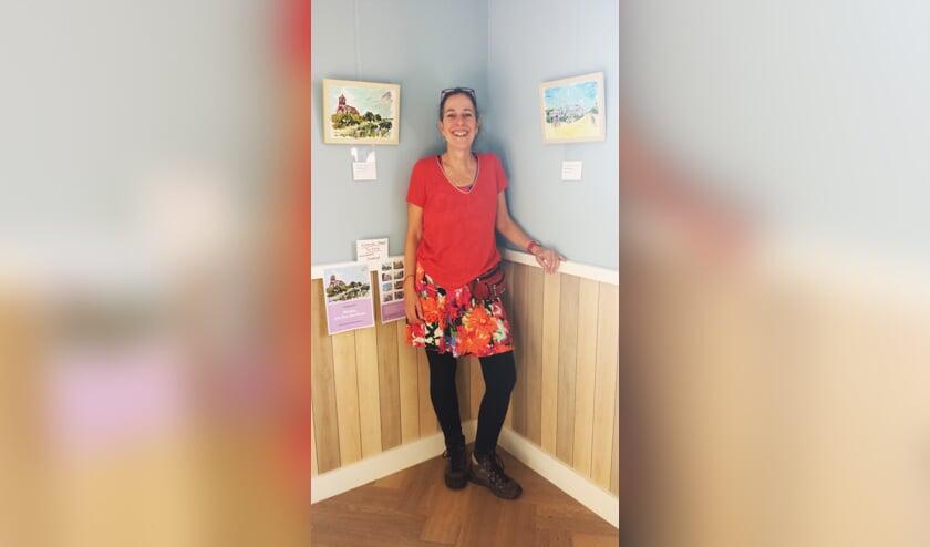Wilma Coehoon exposeert in Bergen.