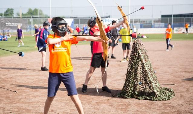 Sporten is belangrijk voor kinderen.