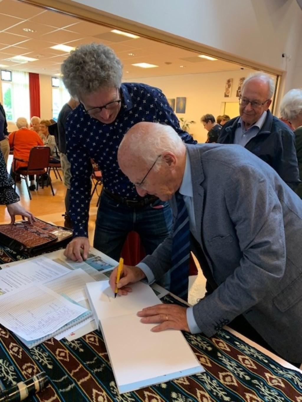 Op 20 oktober is het boek onder grote belangstelling gepresenteerd in de Sint Jan de Doperkerk.  © rodi