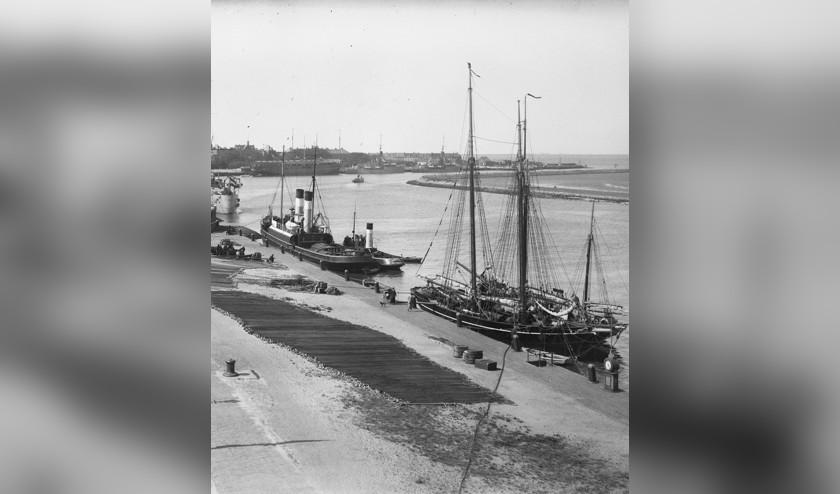 De oude Helderse haven.