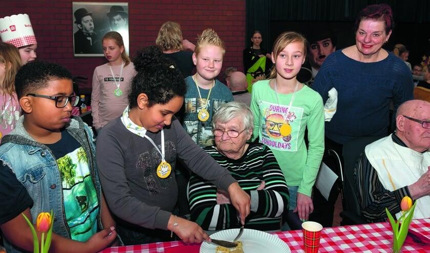 Pannekoeken eten op 12 november in Heemswijk.
