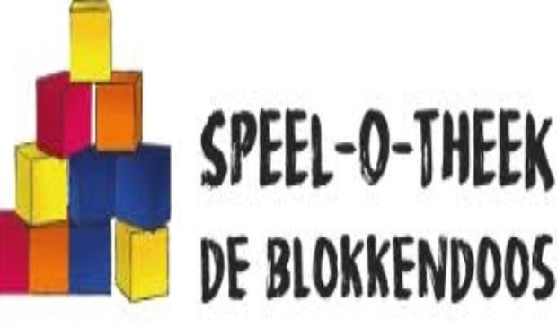 Het logo van Speel-O-Theek De Blokkendoos.