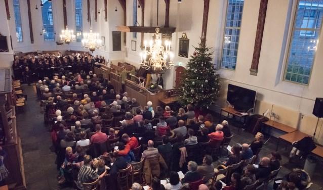Twee keer kerstconcert Nicolaaskerk Krommenie op 22 december.