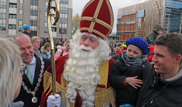 Sinterklaasintocht in Heerhugowaard.