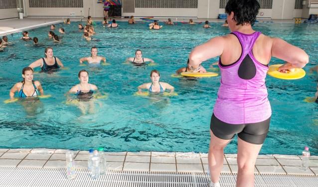 Begin het nieuwe jaar goed met de Aquafitness Marathon