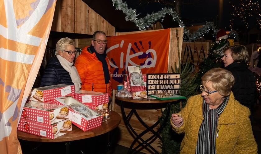 Vorig jaar werden de kerstbroden ook tijdens Winters Purmerend verkocht. De afloop was succesvol want in totaal werden 1.100 stollen verkocht.