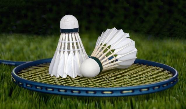 Lekker badmintonnen.