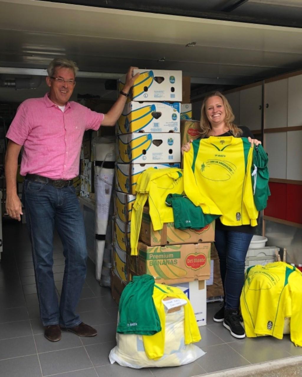 Afra van Empelen heeft hulp gekregen van buurtgenoot Michiel Verbrugge. (Foto: aangeleverd) © rodi