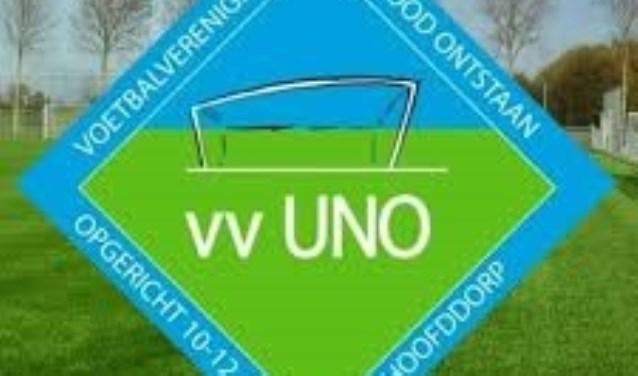 Het logo van VV Uno.