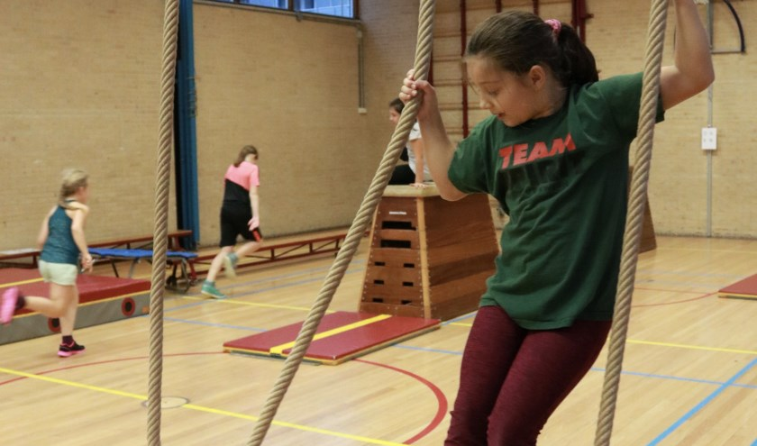Kinderen die graag meer willen sporten,  kunnen meedoen.