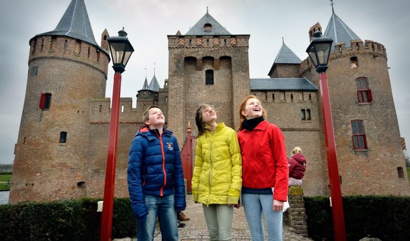 Het Muiderslot opent op 6 november haar deuren voor alle schoolkinderen.