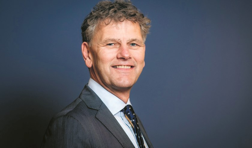 Burgemeester Martijn Smit van Beverwijk.