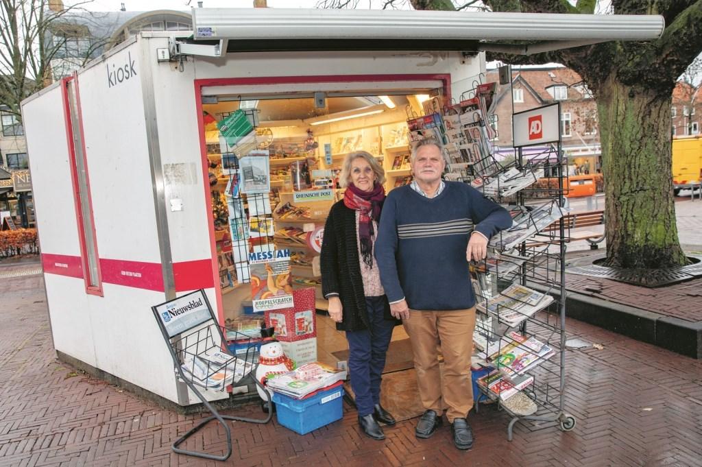 Gerda en Jan Keesen, tot einde 2018 nog de uitbaters van de kiosk. (Foto: Vincentdevriesfoto.nl) © rodi