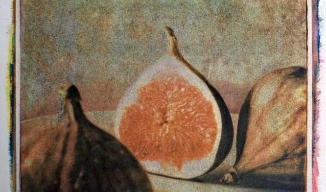 Een gomdruk van Paul Verbunt.