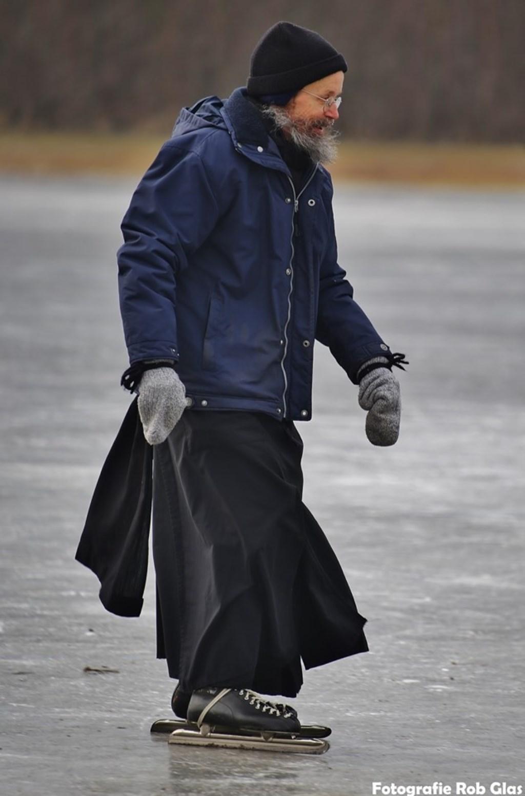 ''Mijn beste foto? Die maakte ik ooit van een schaatser die volledig in z'n element zat. Die had niks aan z'n hoofd en genoot volop. Dat is toch fantastisch?'' Foto: Rob Glas © rodi