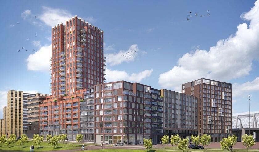 Gare du Nord: 177 nieuwe woningen voor internationale studenten. Ze wonen straks naast hét startpunt van de Noord-Zuidlijn: metrostation Noord.