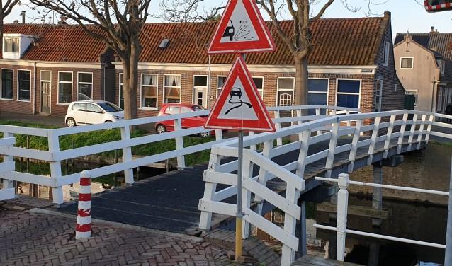 Voetgangers- en fietsbrug aan de Noorder Boerenvaart.