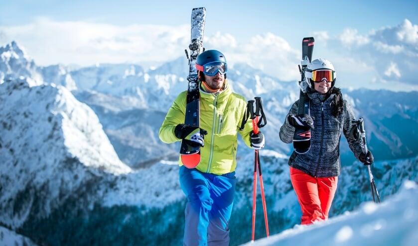 Wintersporters kunnen voor nieuwe en gebruikte kleding terecht op de wintersportbeurs bij Pauw Recreatie.