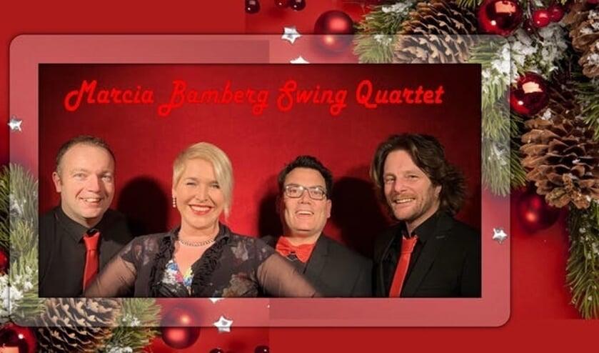 Het Marcia Bamberg Swing Quartet wenst iedereen fijne feestdagen.