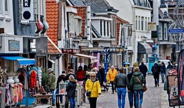 De Voorstraat in Egmond is er klaar voor