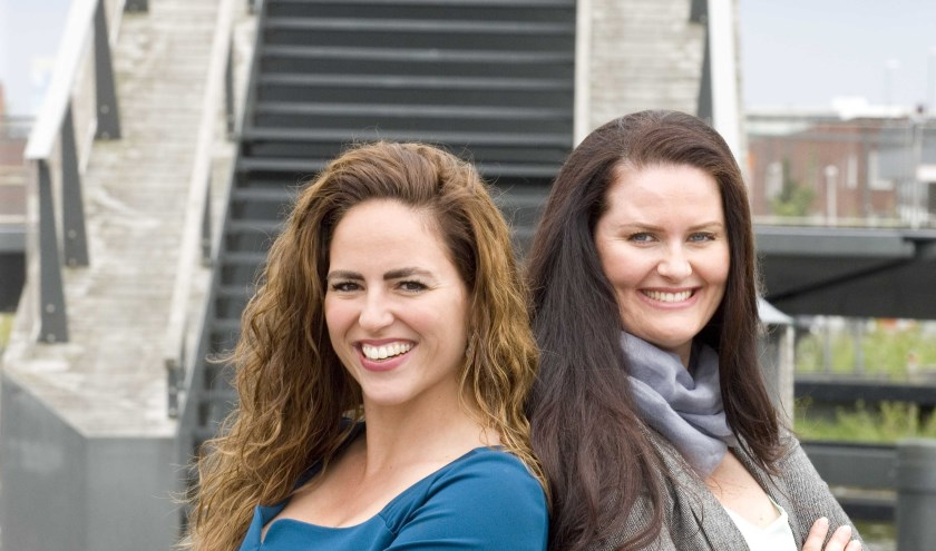 Laura Mulders en Bianca Blom.