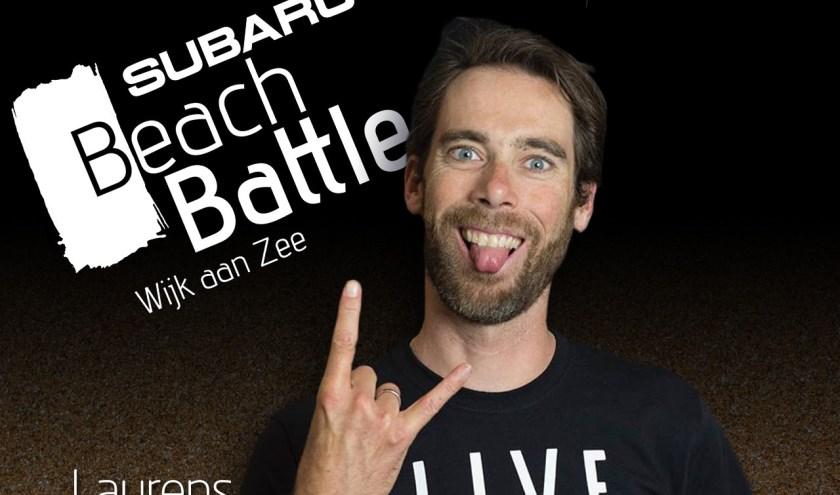 Laurens ten Dam doet weer mee aan de Subaru BeachBattle.