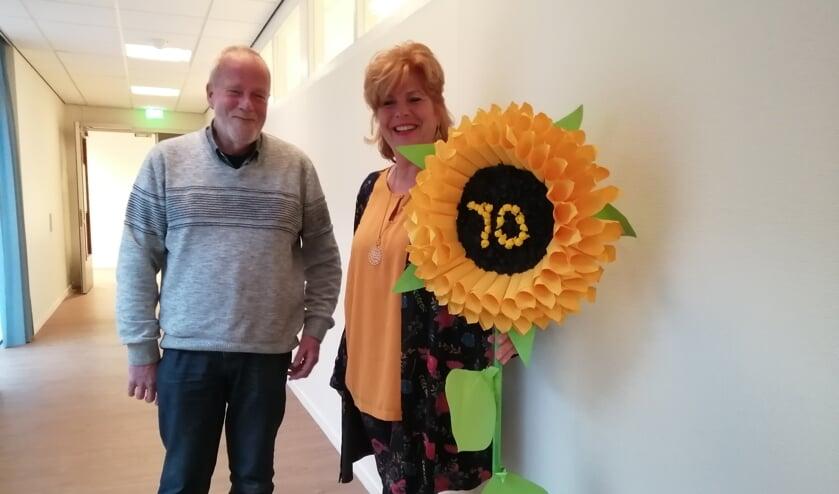 Jan Koopen en Tiny Ruys zijn twee vrijwilligers van de afdeling Landsmeer.