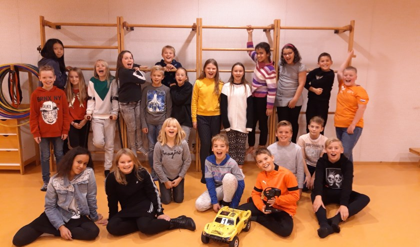 Groep 7-8 van Basisschool Zandhope doet mee met de RC-Cup.