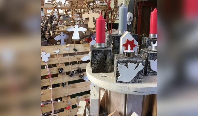 De wintermarkt is een goede gelegenheid om alvast in de kerstsfeer te komen.