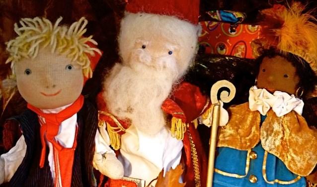 Sinterklaas bij kabouter Zako.