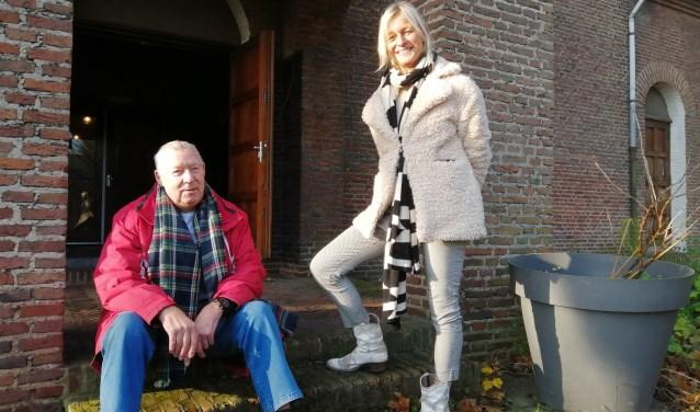 Rob Landzaat en Joyce van Overbeek.