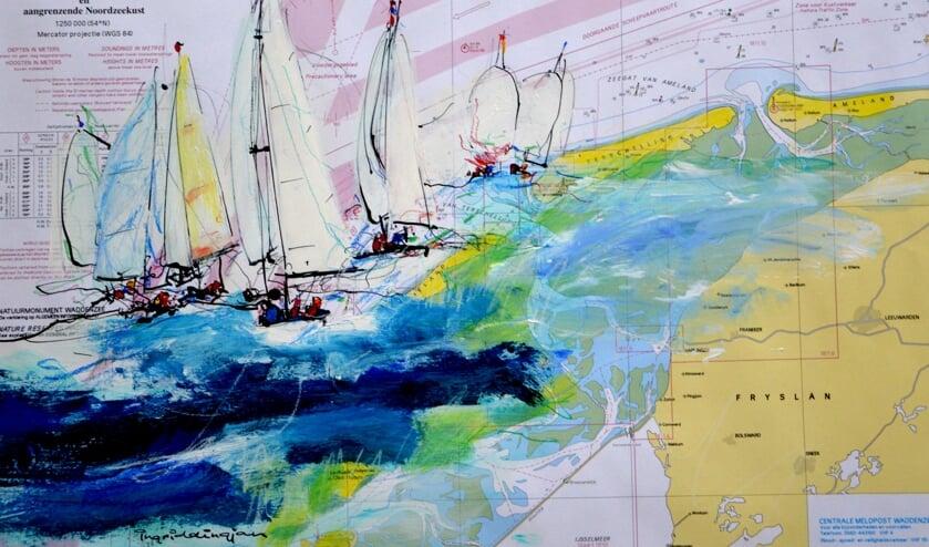 Werk van Ingrid Dingjan.