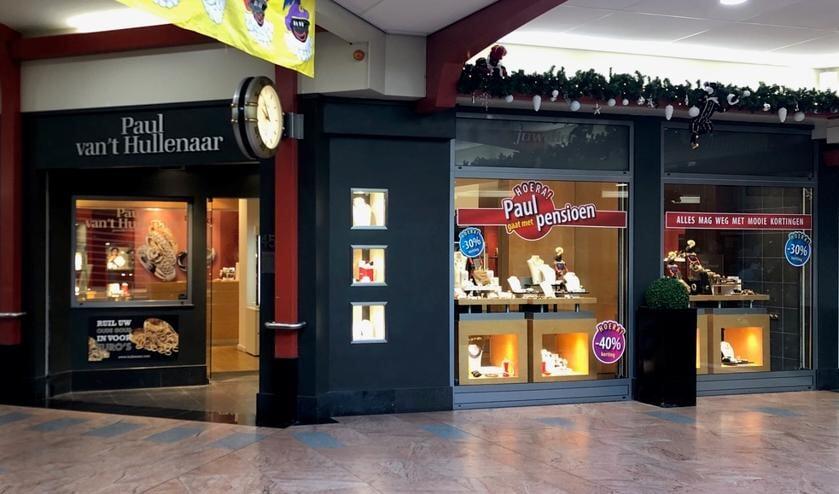 De winkel van Paul van 't Hullenaar in De Symfonie.