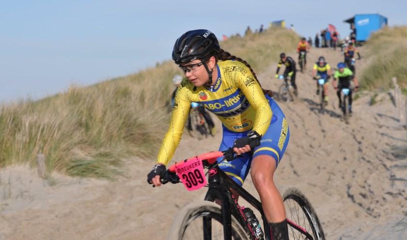 Tessa Neefjes uit Wervershoof won zilver in Scheveningen.