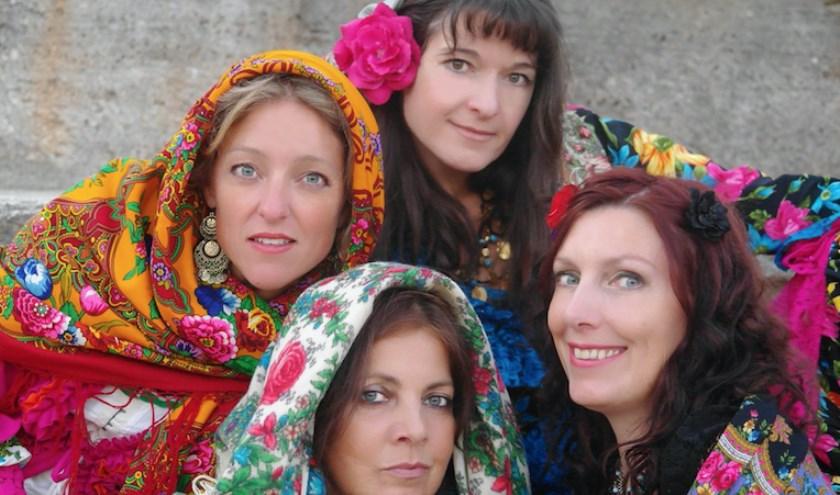 Het Rusalki Quartet komt naar het Vredeskerkje voor een winters wereldconcert.