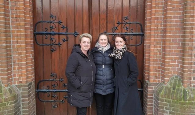 Annemiek Burger, Yanna Bruins en Denise de Wever