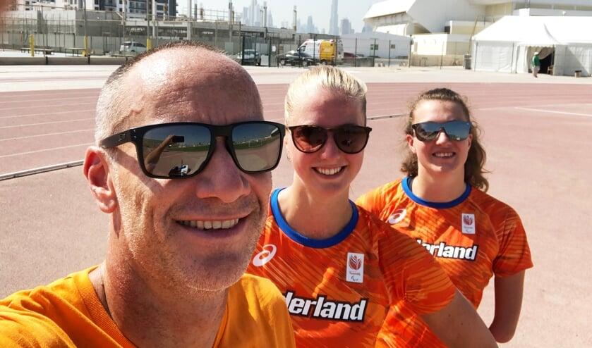 Guido Bonsen, Fleur Jong en Marlene van Gansewinkel startten Stichting Para Atletiek
