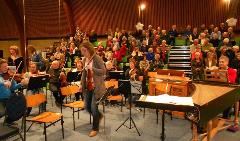 Maatje Hulshof heeft geen concert van het Oratoriumkoor gemist.