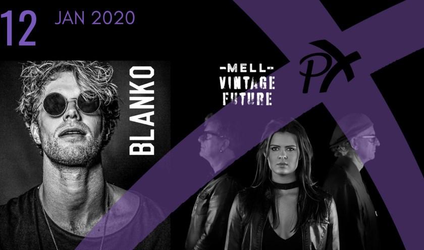 Blanko en Mell & Vintage Future spelen in PX10
