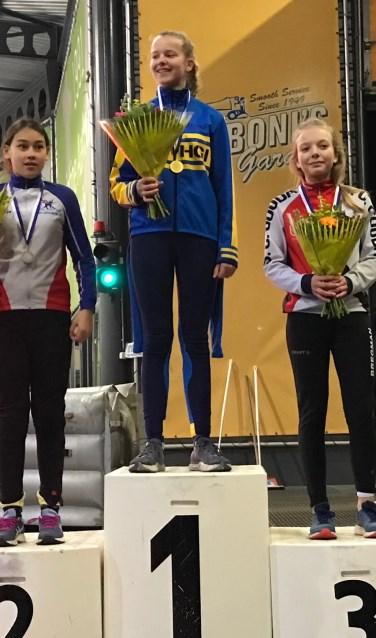 Iris Verbeek werd kampioen in haar categorie.