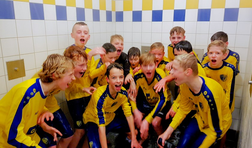 LSVV JO13-1 ongeslagen kampioen!