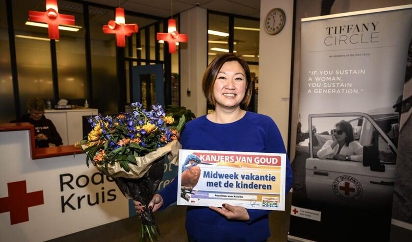 De wens van Kalai To uit Amsterdam-Noord gaat in vervulling dankzij een nominatie van Rode Kruis bij de Postcode Loterij.