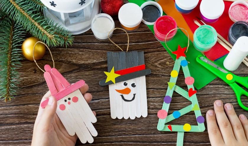 Kinderen kunnen creatief bezig zijn in de kerstvakantie in de Speeltoren.