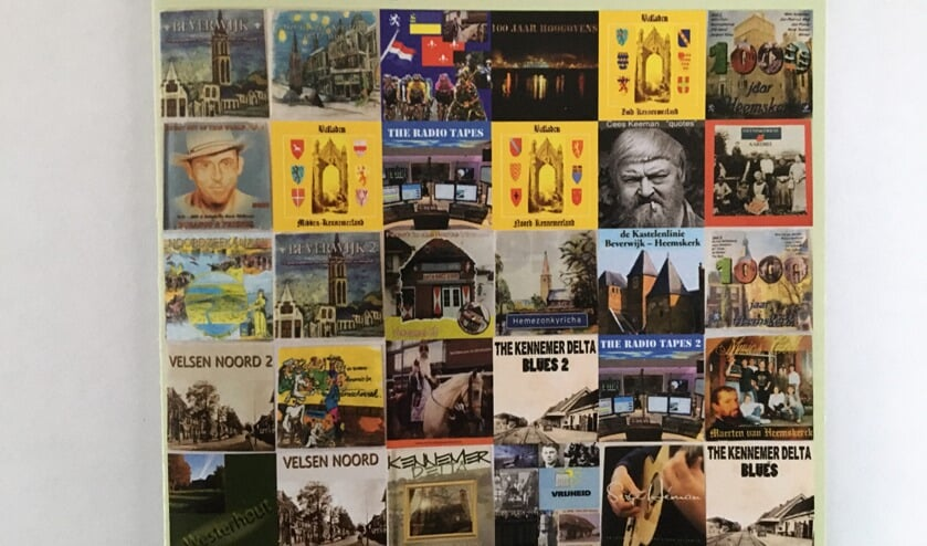 Alle liederen die voorkomen op dertig cd's, staan op een usb-stick.