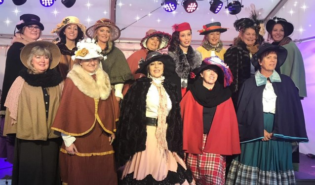 Vocalgroep Saensation is er op 11 december ook bij in Dickensstijl.